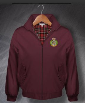 RE Burgundy Harrington Embroidered Jackets 2XL SALE